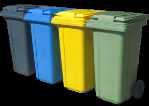 Реализация мусорных баков 120 литров